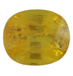 Stone. Gemstone Yellow Saphire STO529