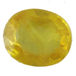 Stone Gemstone Yellow Saphire STO534