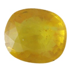 Stone. Gemstone Yellow Saphire STO538