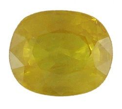 Stone. Gemstone Yellow Saphire STO540
