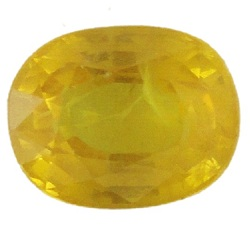 Stone Gemstone Yellow Saphire STO541