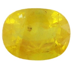 Stone Gemstone Yellow Saphire STO542