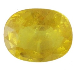 Stone Gemstone Yellow Saphire STO544
