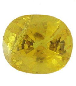 Stone Gemstone Yellow Saphire STO545