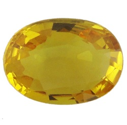 Stone. Gemstone Yellow Saphire STO584