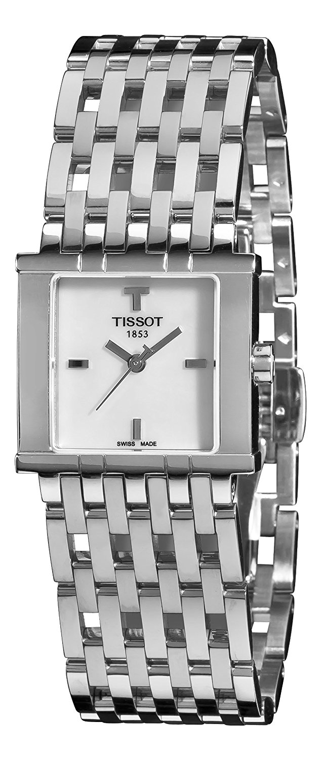 Tissot Analog White Dial Women's Watch - T02118171