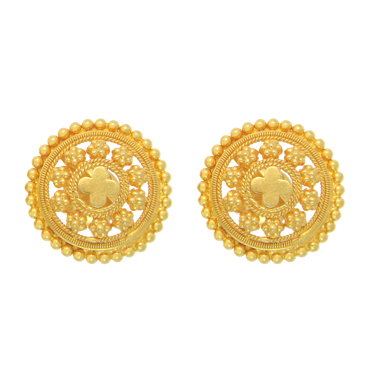 Popley 22Kt Gold Bandhan Earring - A41