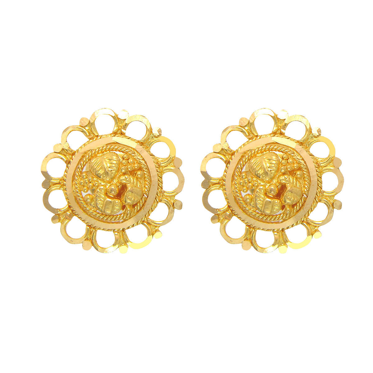 Popley 22Kt Gold Bandhan Earring