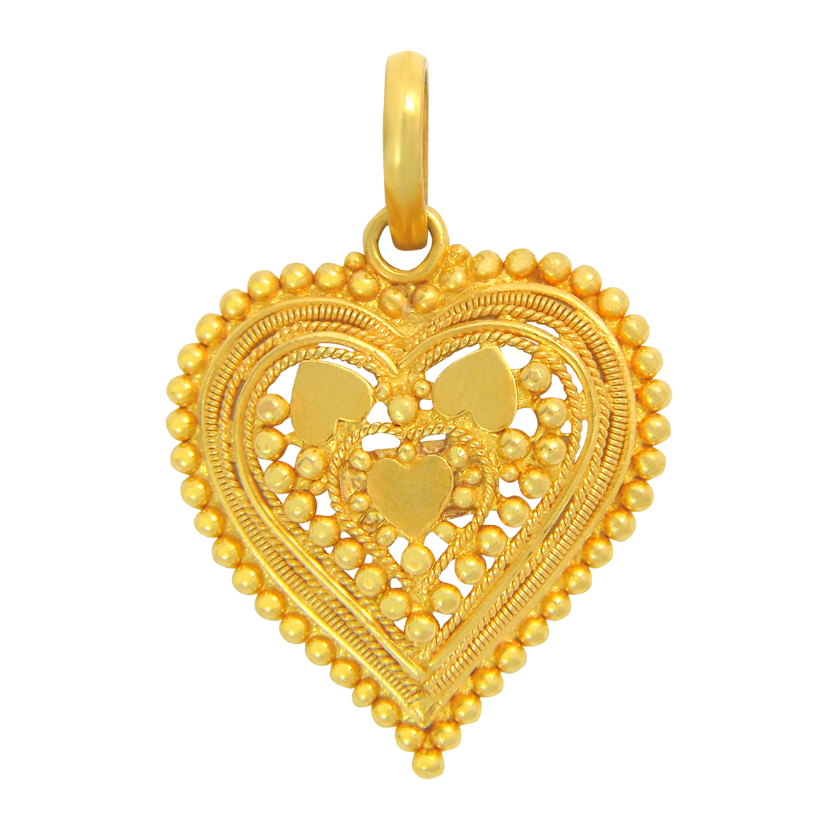 Popley 22Kt Gold Bandhan Pendant - A44