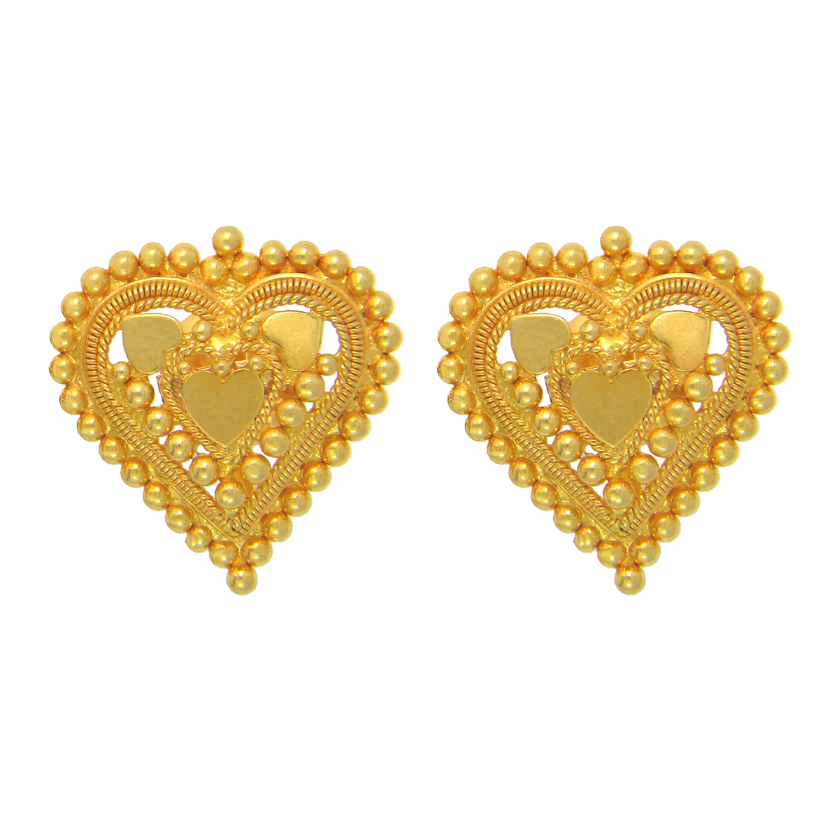 Popley 22Kt Gold Bandhan Earring - A43