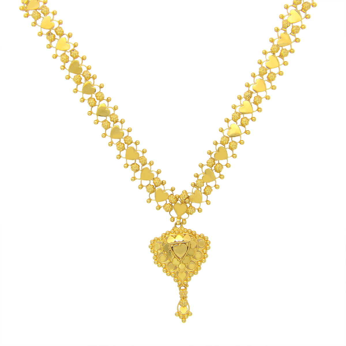 Popley 22Kt Gold Bandhan Necklace - A45