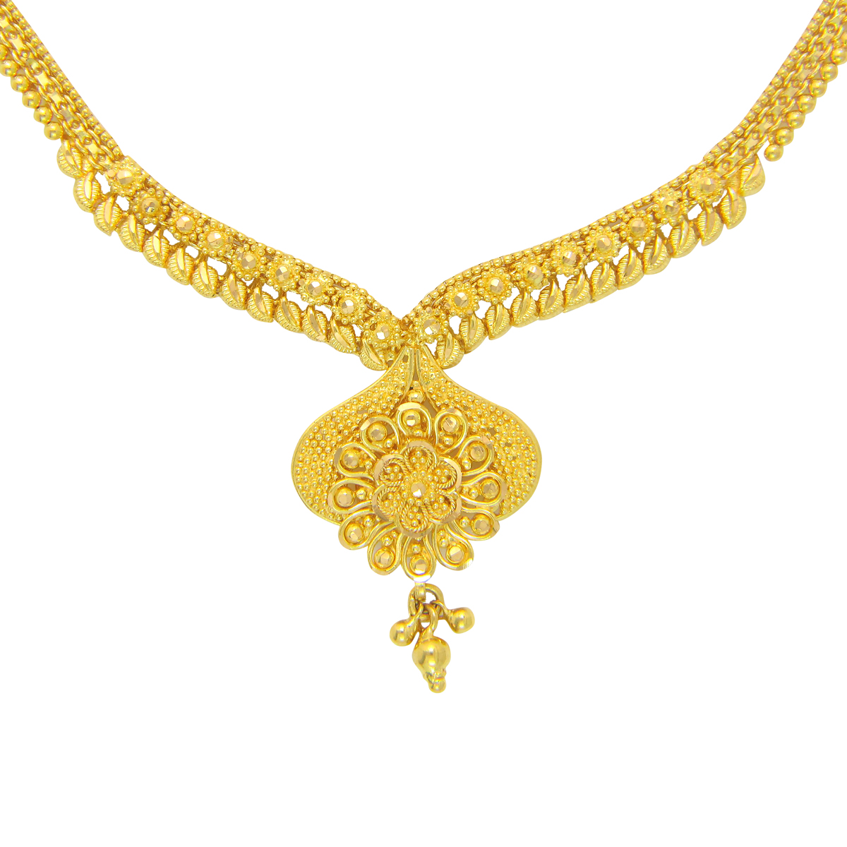 Popley 22Kt Gold Bandhan Necklace - A47