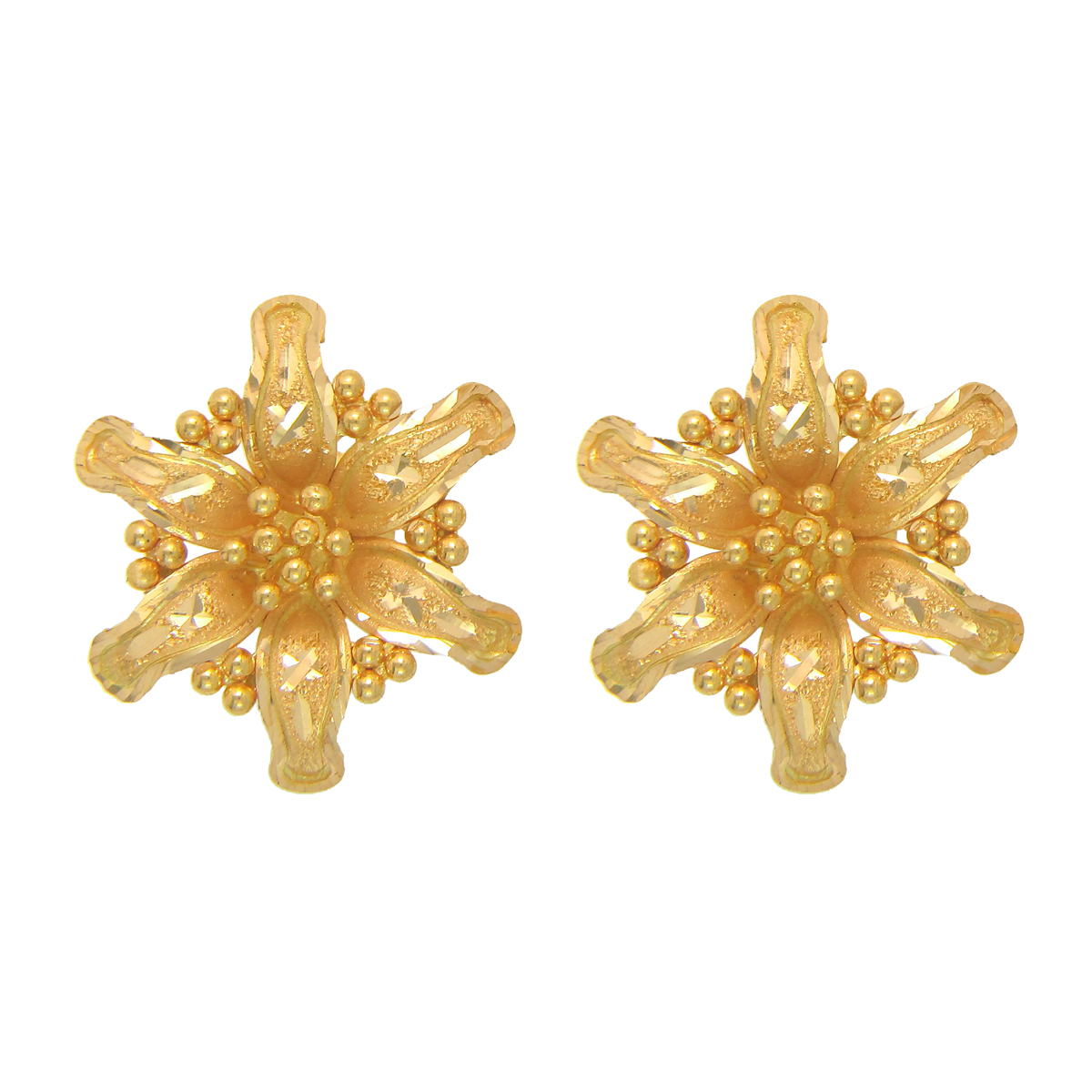 Popley 22Kt Gold Bandhan Earring - A50