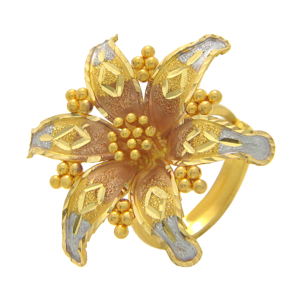 Popley 22Kt Gold Bandhan Ring - A53
