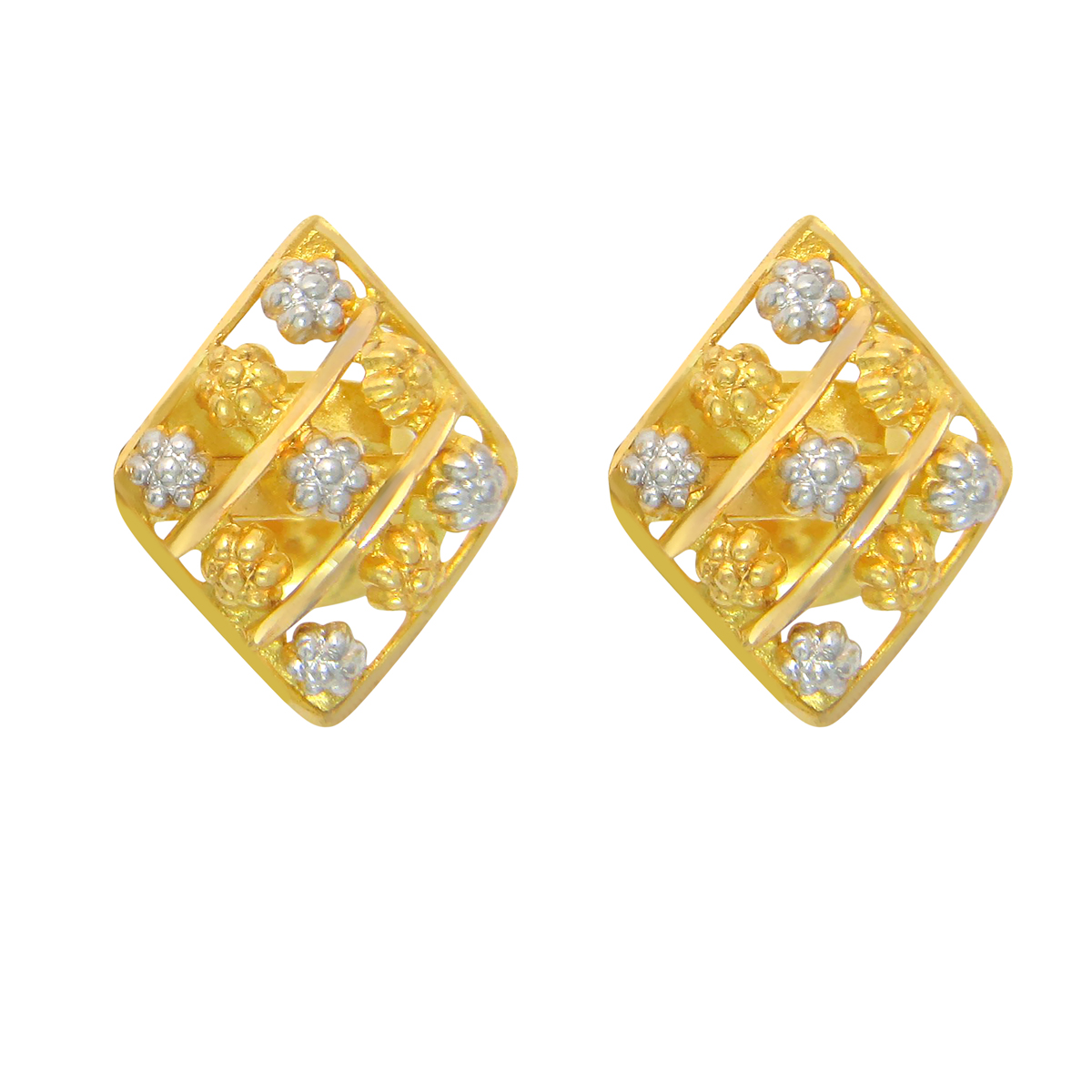 Popley 22Kt Gold Bandhan Earring - A82
