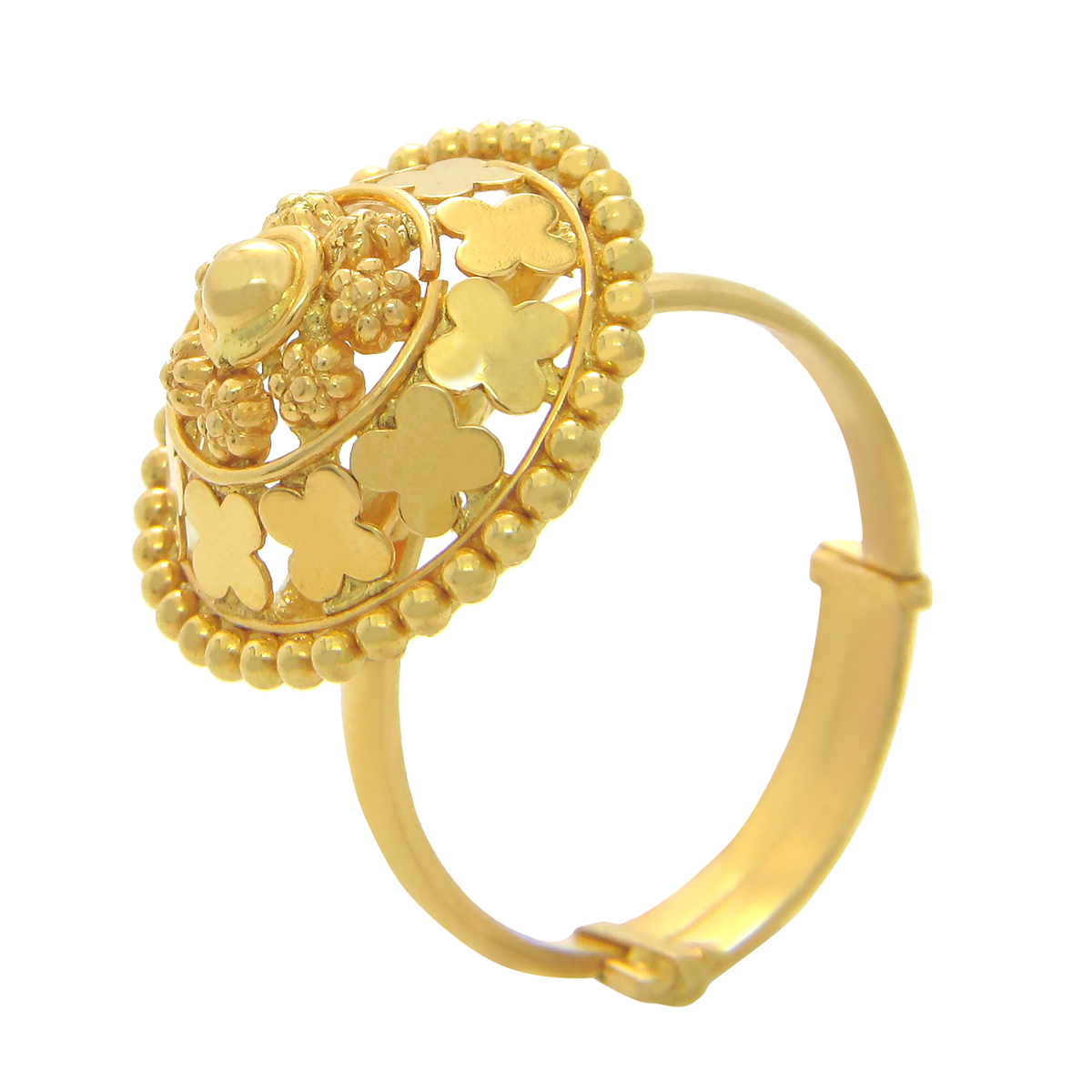 Popley 22Kt Gold Bandhan Ring - A80