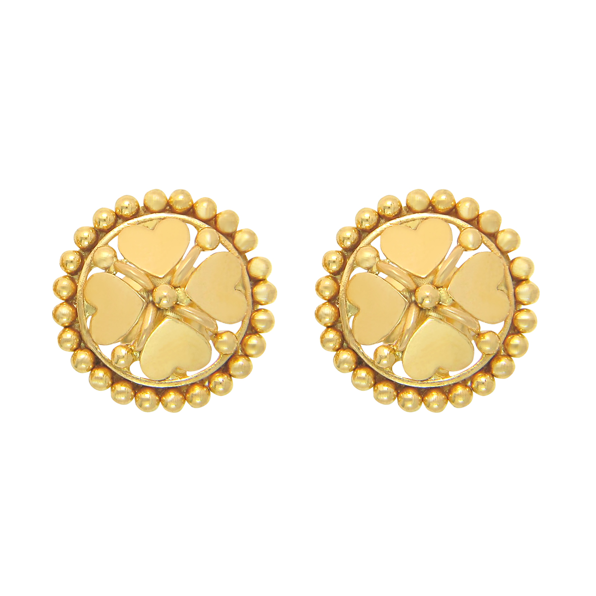 Popley 22Kt Gold Bandhan Earring - A17