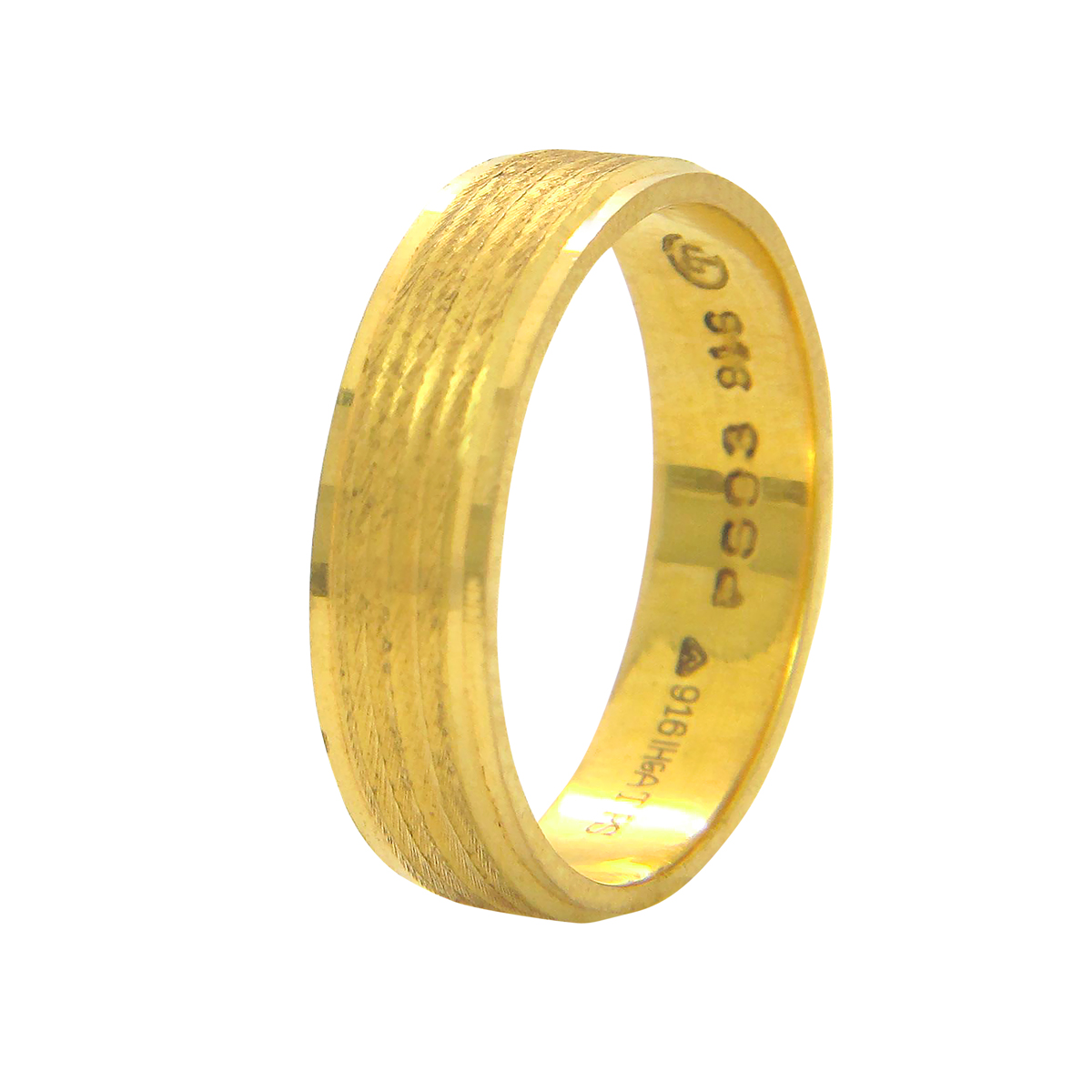 Popley 22Kt Gold Bandhan Ring - A83