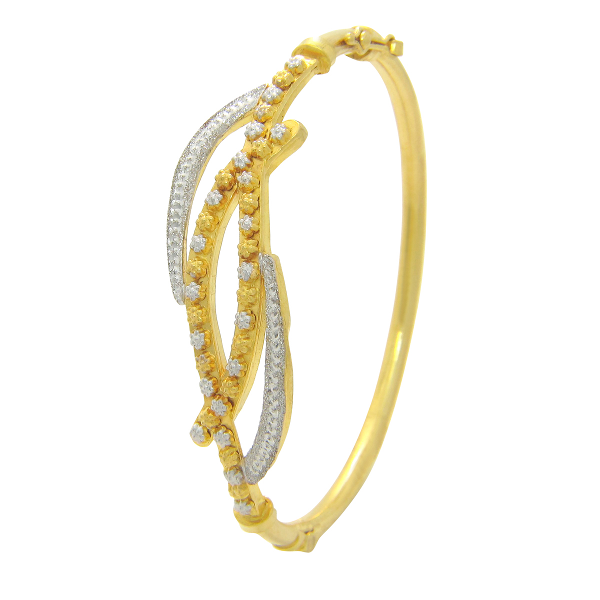 Popley 22Kt Gold Bandhan Bangle A86