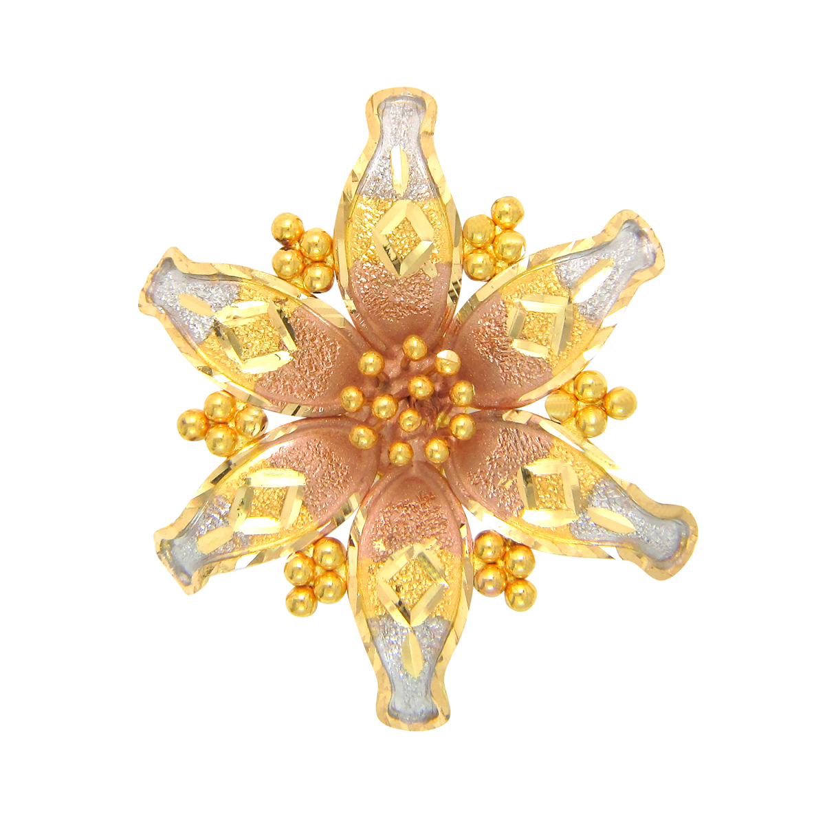Popley 22Kt Gold Bandhan Pendant - A91