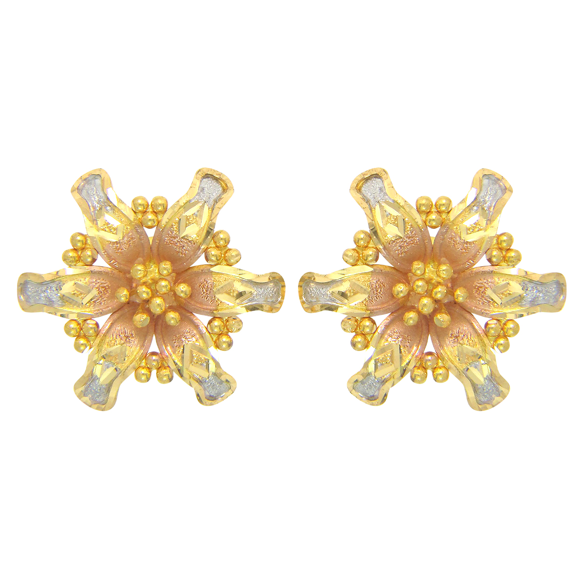Popley 22Kt Gold Bandhan Earring - A92