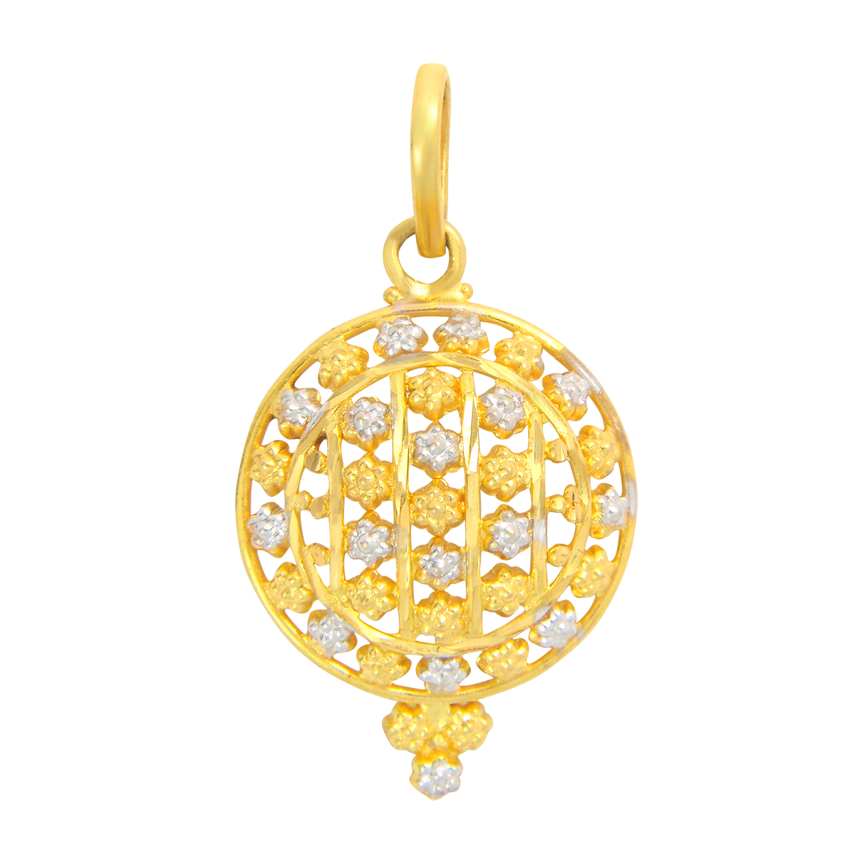Popley 22Kt Gold Bandhan Pendant - A97
