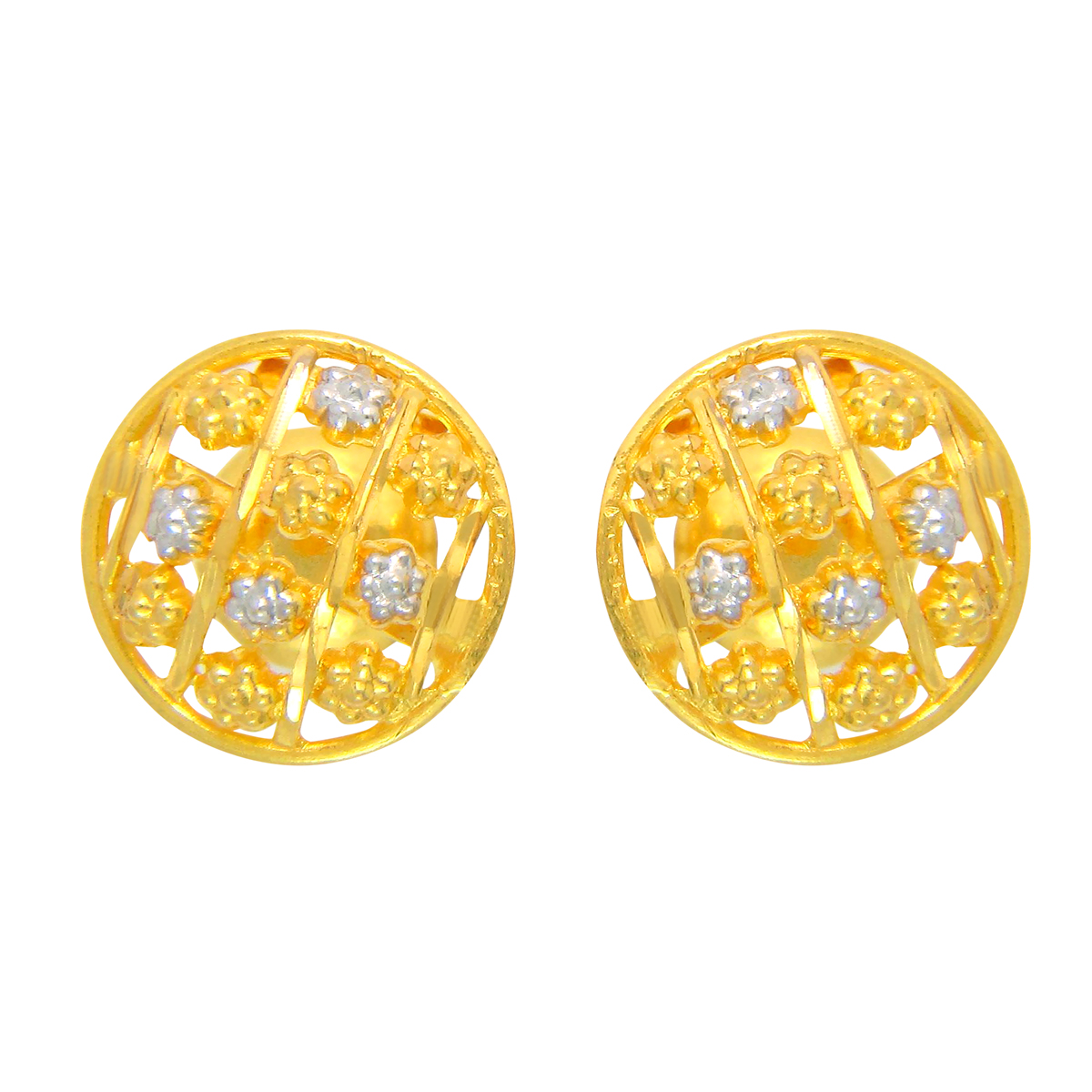 Popley 22Kt Gold Bandhan Earring - A98