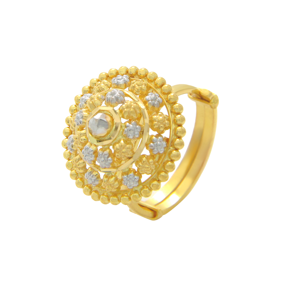 Popley 22Kt Gold Bandhan Ring - A3