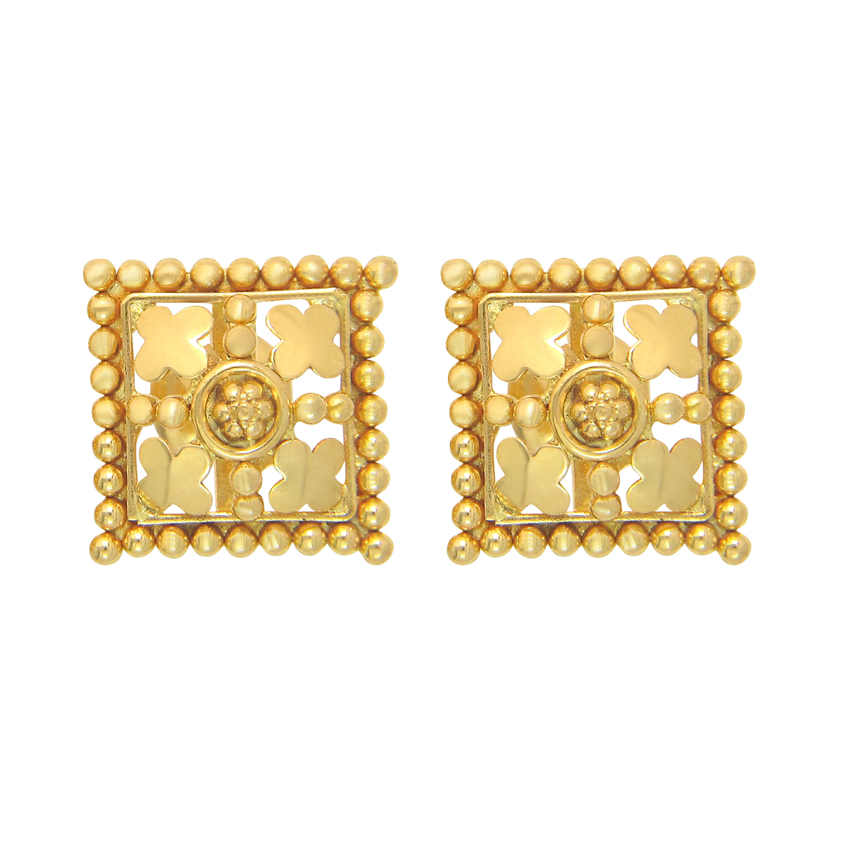 Popley 22Kt Gold Bandhan Earring - A1