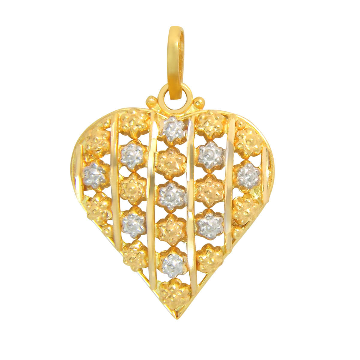 Popley 22Kt Gold Bandhan Pendant - A6