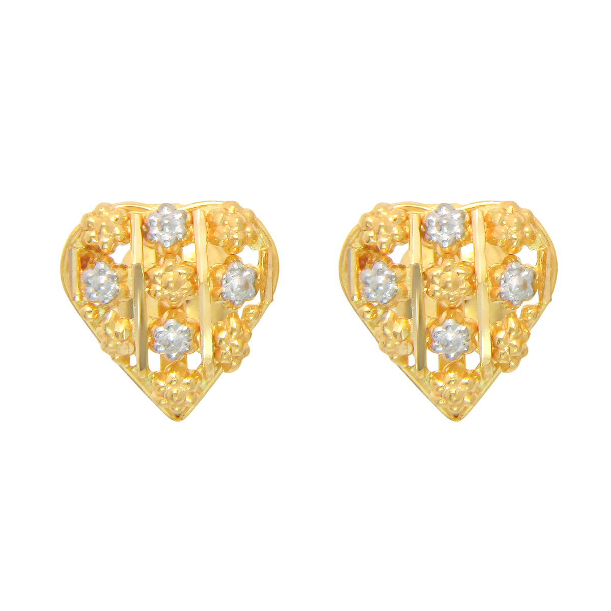 Popley 22Kt Gold Bandhan Earring - A5