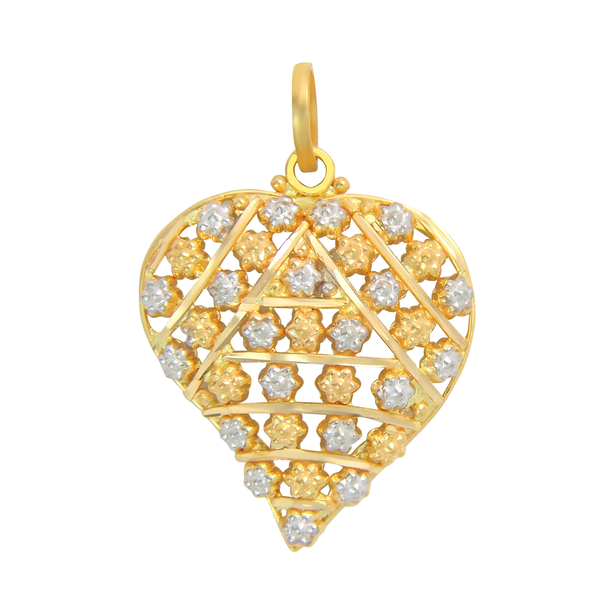 Popley 22Kt Gold Bandhan Pendant - A16