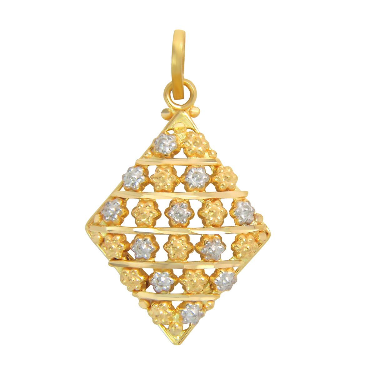 Popley 22Kt Gold Bandhan Pendant - A14