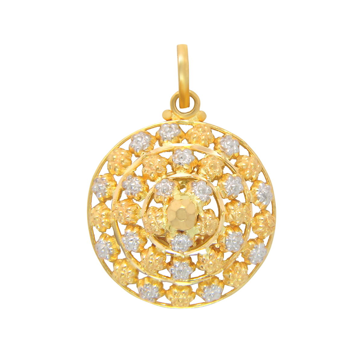 Popley 22Kt Gold Bandhan Pendant - A8