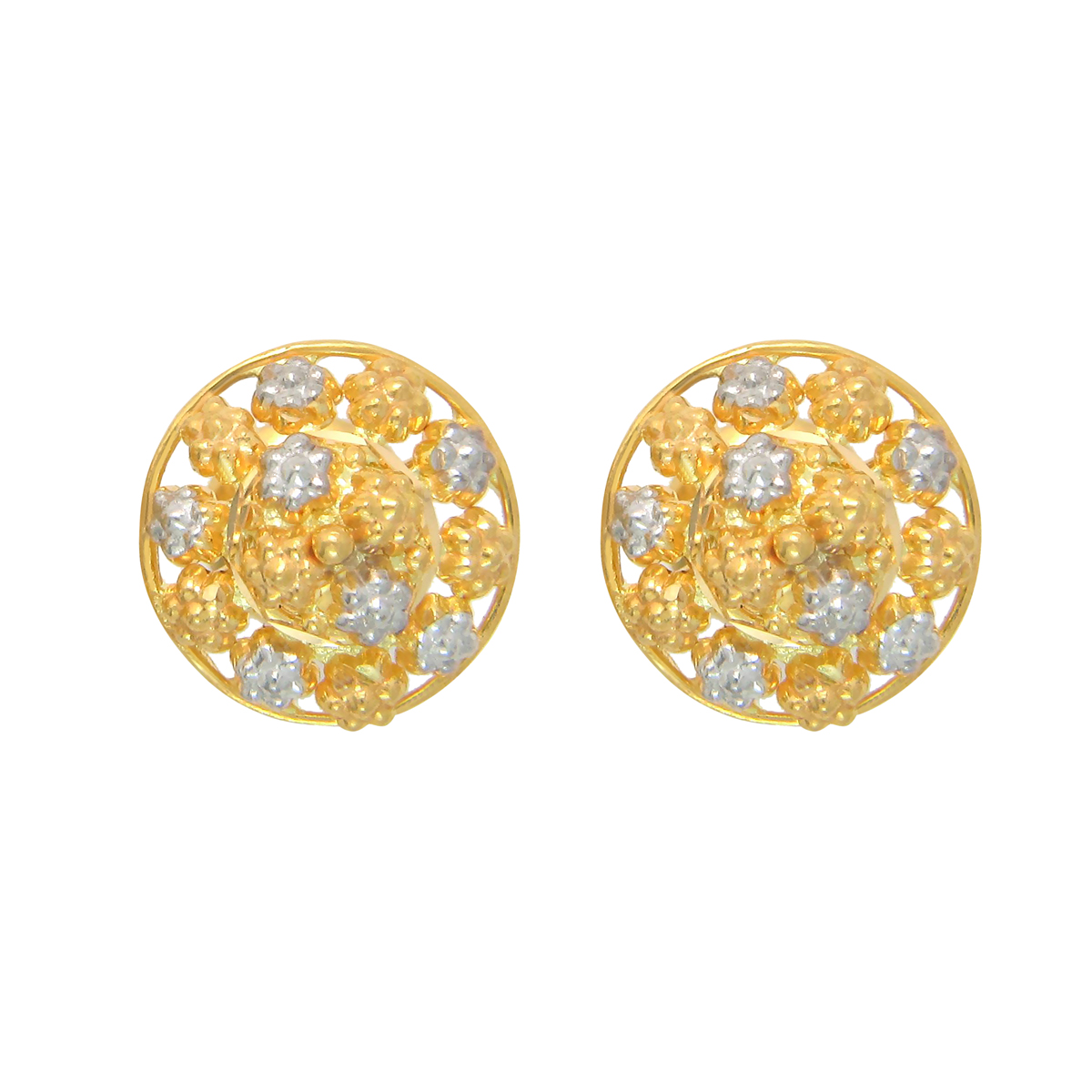 Popley 22Kt Gold Bandhan Earring - A7