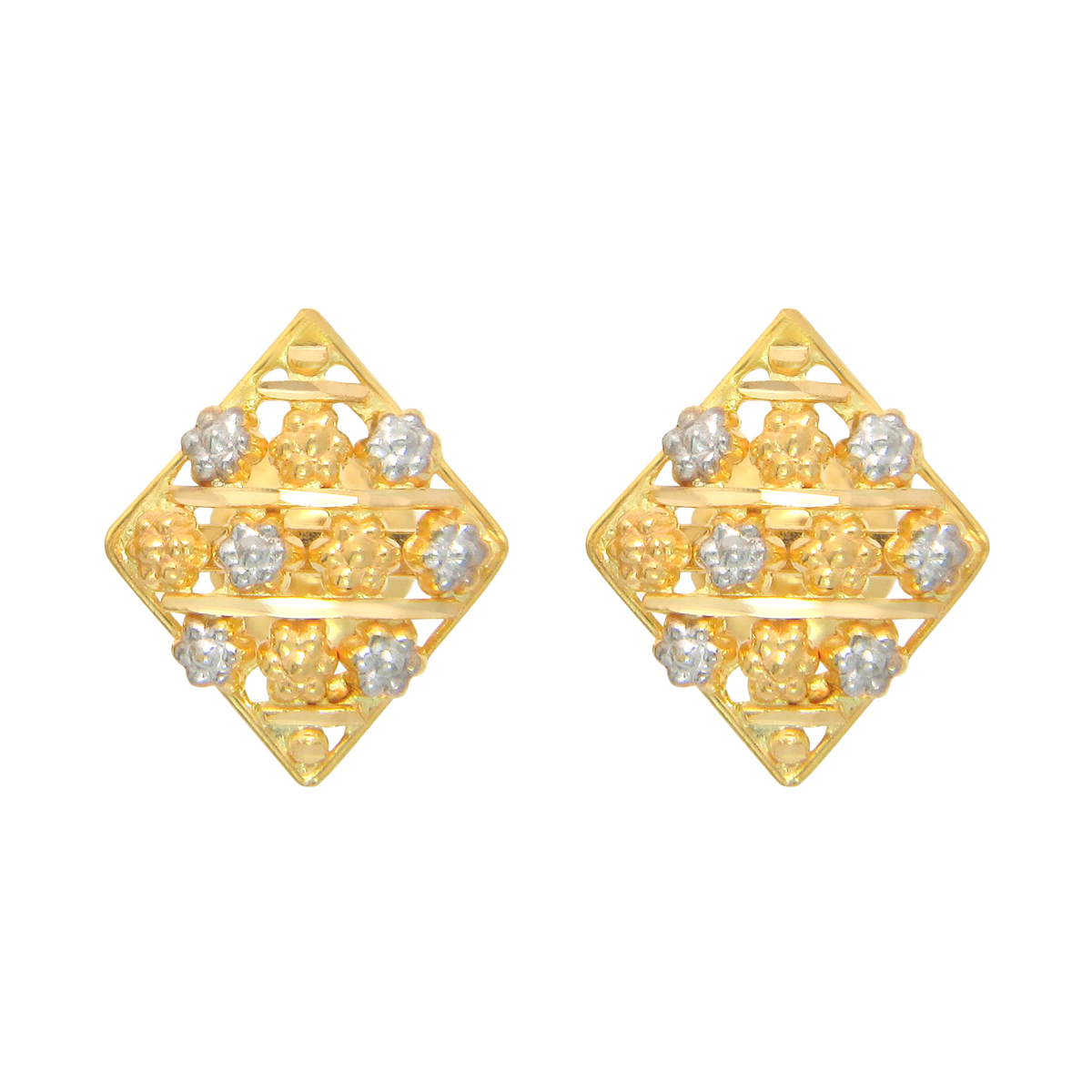 Popley 22Kt Gold Bandhan Earring - A12