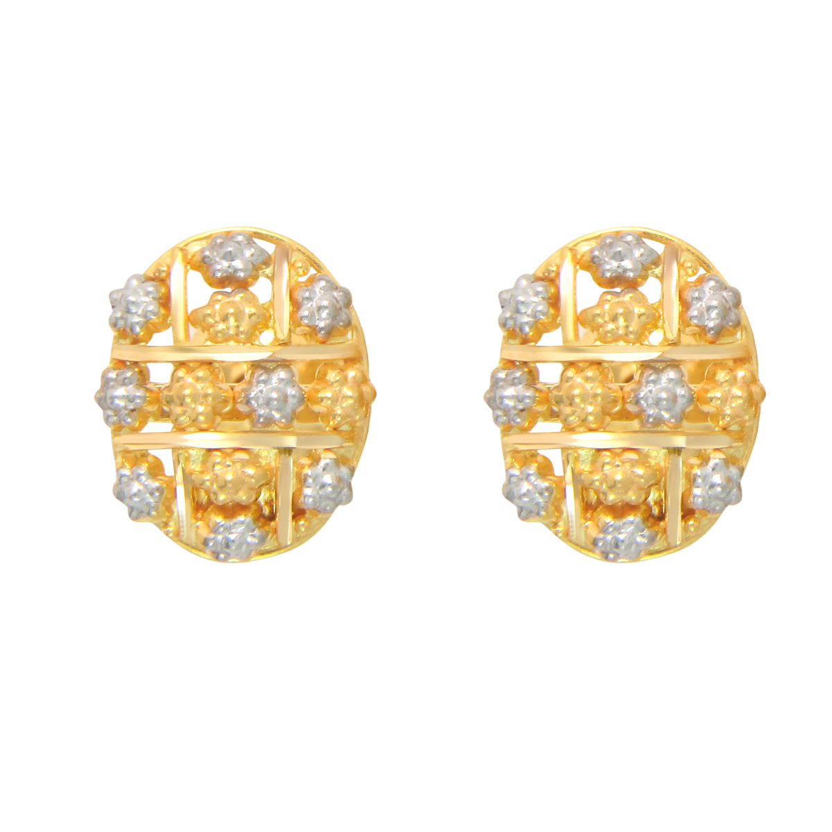 Popley 22Kt Gold Bandhan Earring - A9
