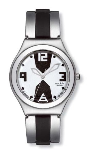 Swatch Analog Silver Dial Men's Watch - YGS115HA