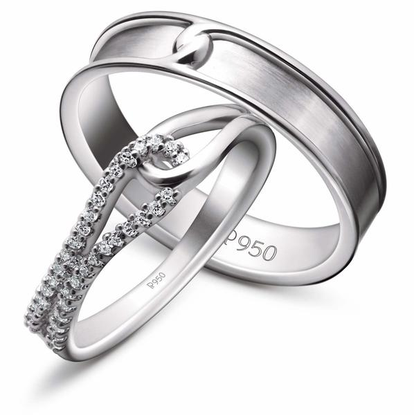 Platinum Diamonds Women's Ring