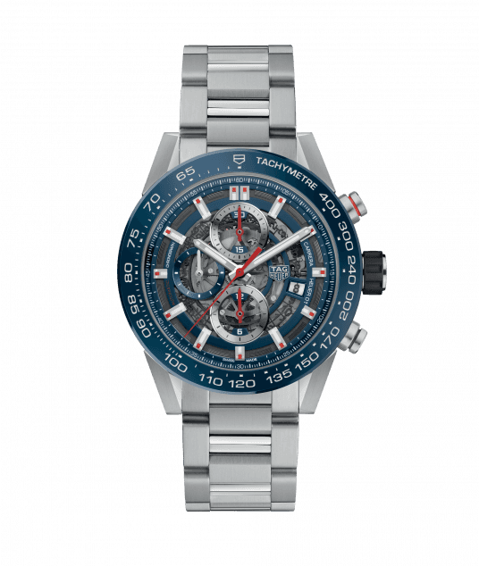 TAG HEUER CARRERA CALIBRE HEUER 01 100m - 43 mm - CAR201T.BA0766