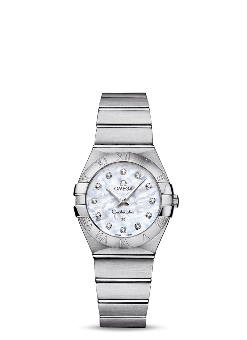Omega CONSTELLATION QUARTZ 27 MM Steel on steel - 123.10.27.60.55.001