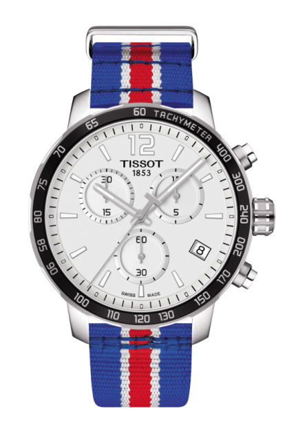 TISSOT QUICKSTER CHRONOGRAPH NBA PHILADELPHIA 76ERS Swiss quartz - T095.417.17.037.18