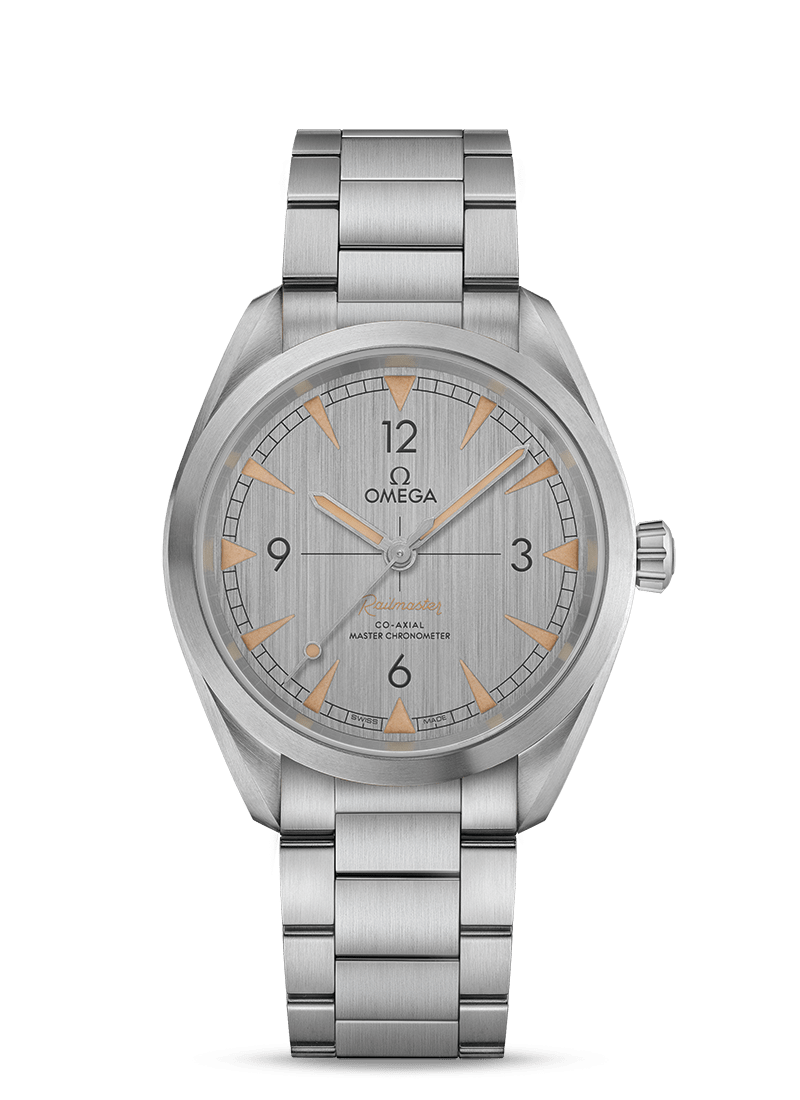 Omega Seamaster RAILMASTER CO-AXIAL MASTER CHRONOMETER 40MM Steel on steel - 220.10.40.20.06.001