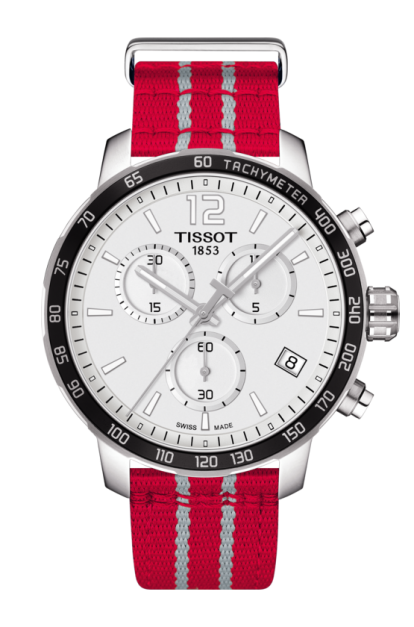 TISSOT QUICKSTER CHRONOGRAPH NBA HOUSTON ROCKETS QUARTZ - T095.417.17.037.12