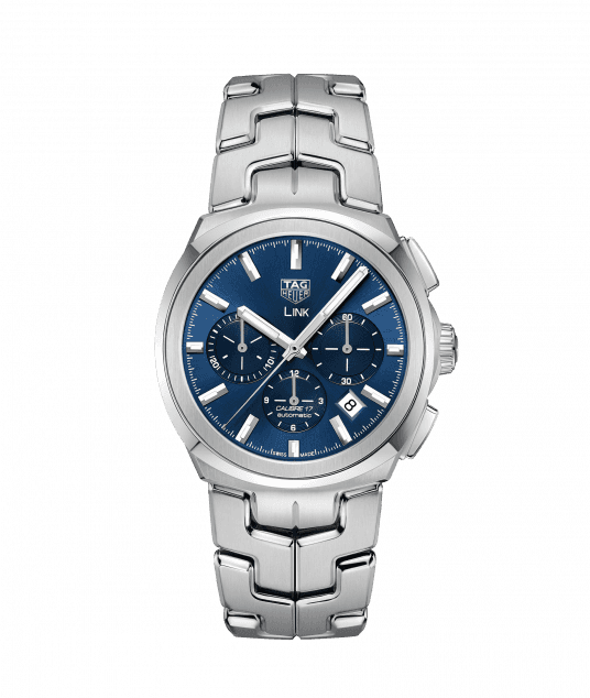 TAG HEUER LINK CALIBRE 17 AUTOMATIC 100 m - 41mm - CBC2112.BA0603