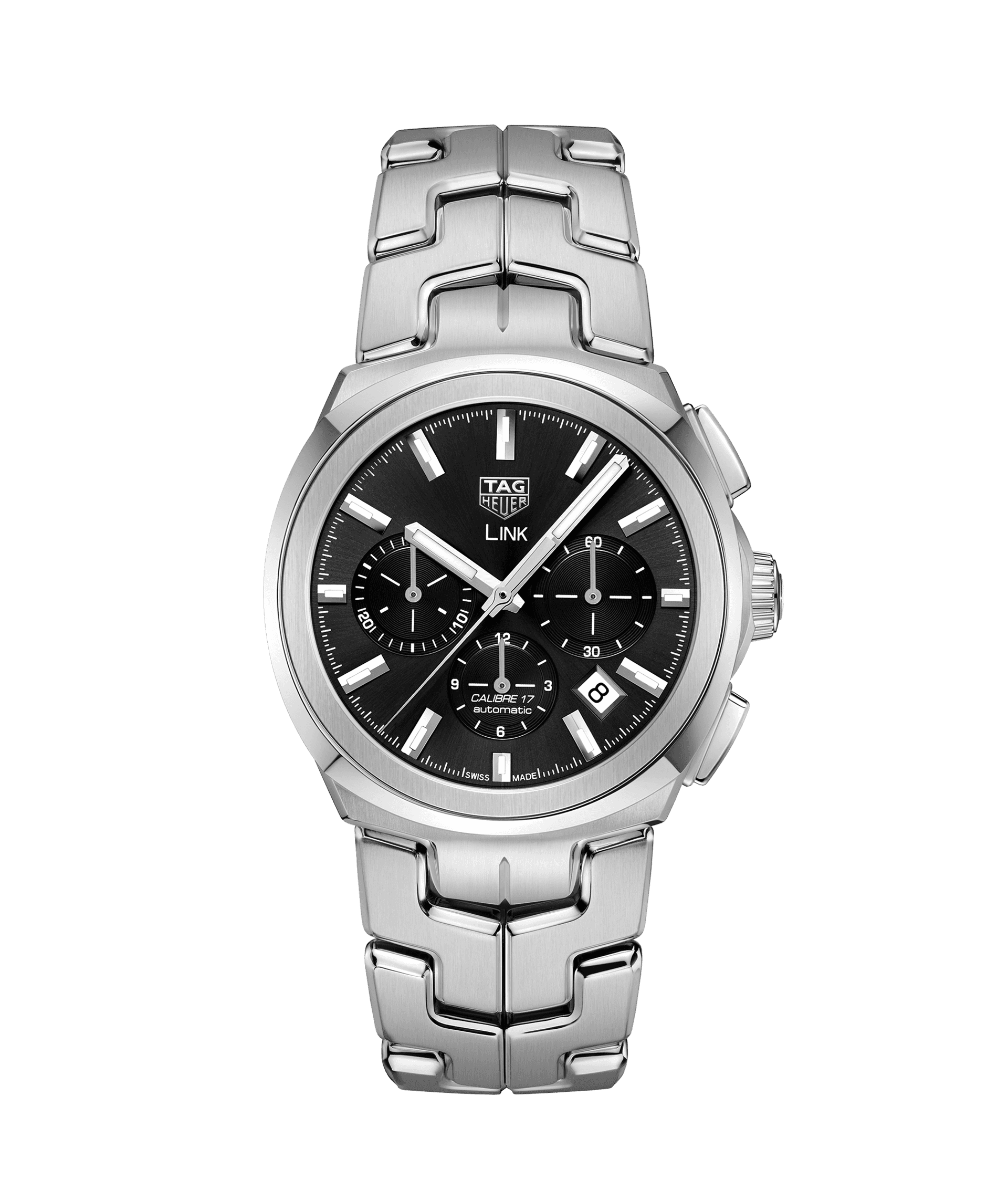 TAG HEUER LINK CALIBRE 17 AUTOMATIC 100 m - 41mm - CBC2110.BA0603