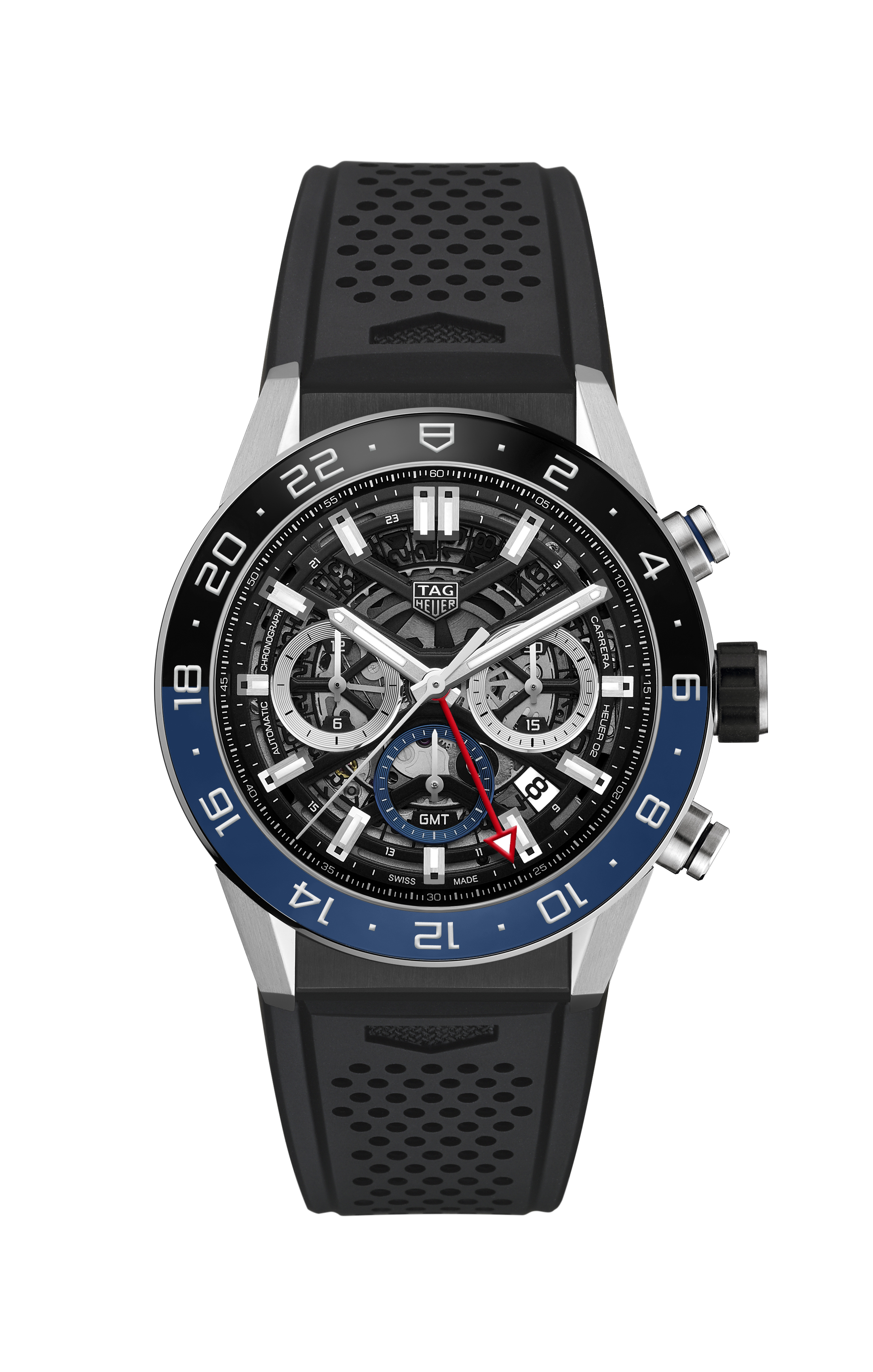 TAG Heuer Carrera Automatic Chronograph Calibre GMT - CBG2A1Z.FT6157