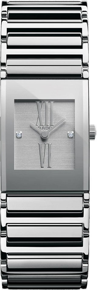 Rado Integral Silver Dial 27mm Women Quartz - R20747722