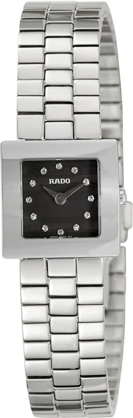 Rado Diastar Black Dial 15mm Women Quartz - R18682713