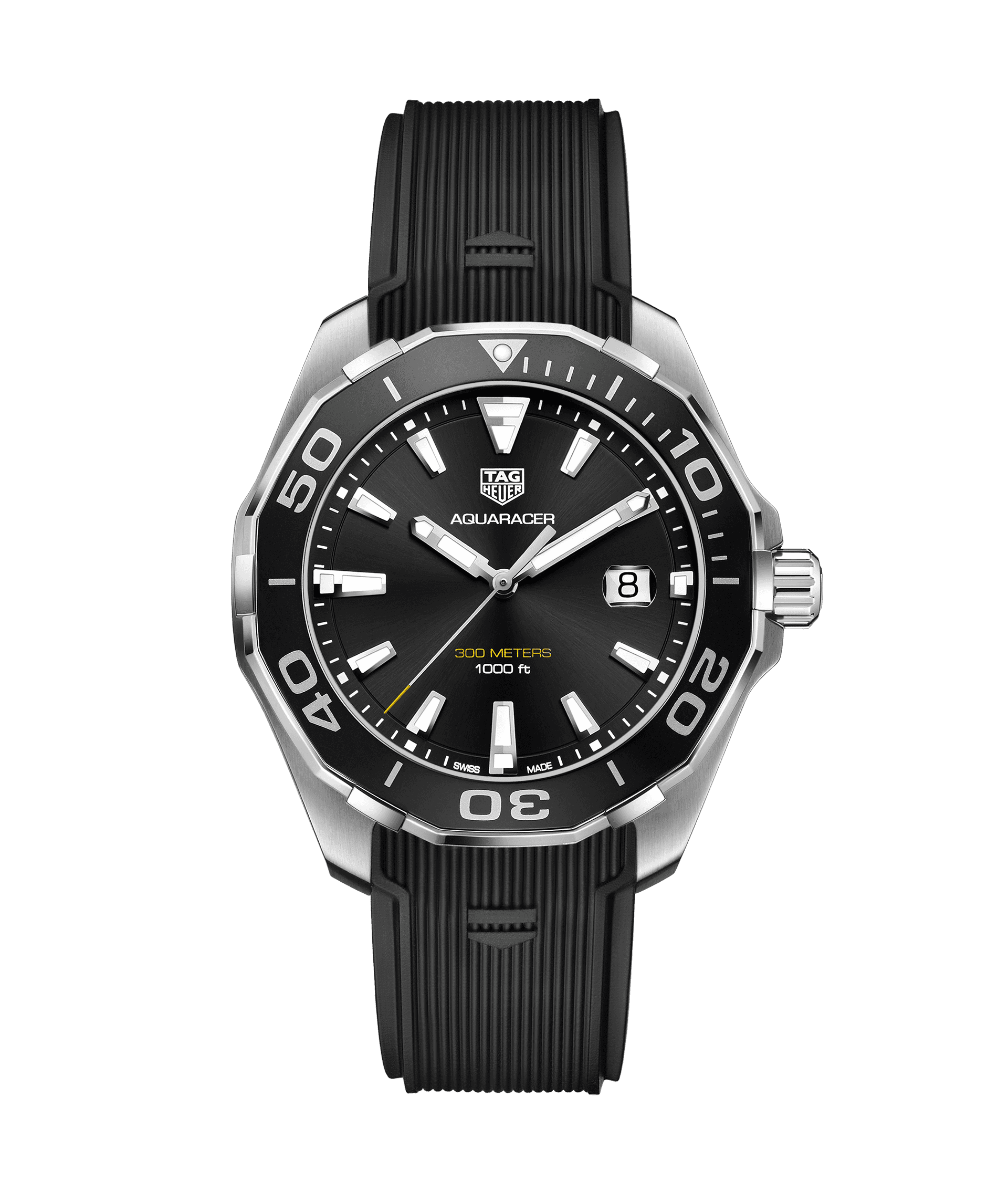 TAG HEUER AQUARACER 300m - 43mm QUARTZ - WAY101A.FT6141